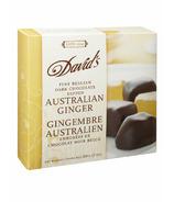 David's Dark Chocolate Dipped Australian Ginger