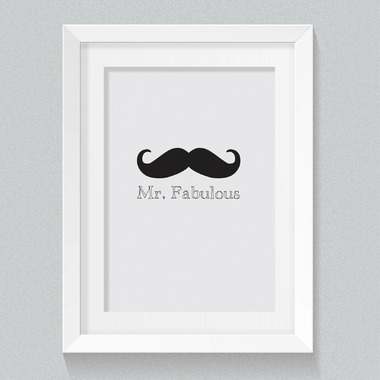 mavisBLUE Mr. Fabulous 8x10