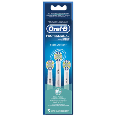 Oral-B FlossAction Replacement Heads