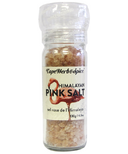 Cape Herb & Spice Table Top Grinder Himalayan Pink Salt