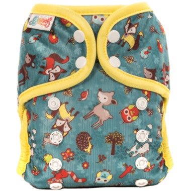 Bummis All-in-One Pure Diaper Forest Animals