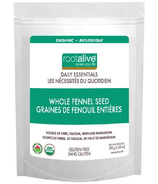 Rootalive Organic Whole Fennel Seed