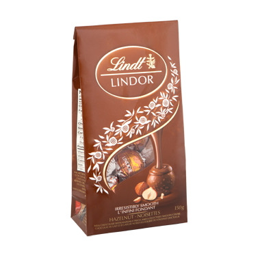 Lindt Lindor Hazelnut Milk Chocolate Truffles