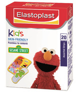 Elastoplast Kids Skin-Friendly Bandages Sesame Street