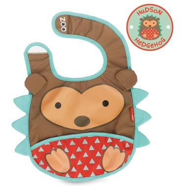 Skip Hop Zoo Tuck-Away Bibs Hedgehog