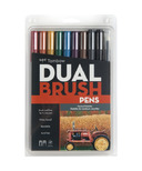 Tombow Muted Palette Dual Brush Pen Set
