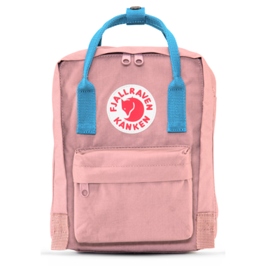 Fjallraven Kanken Backpack Pink & Air Blue