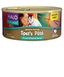 Halo Grain-Free Cat Spot's Pate Ground Whitefish