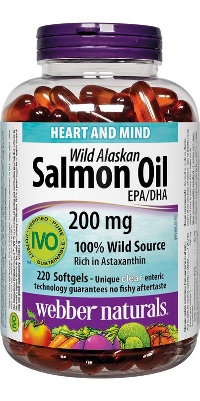 Buy webber naturals wild alaskan salmon oil epa dha at for Wild alaskan fish oil