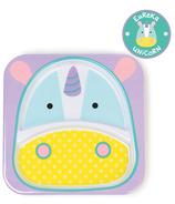 Skip Hop Zoo Tableware Melamine Plate Unicorn Design