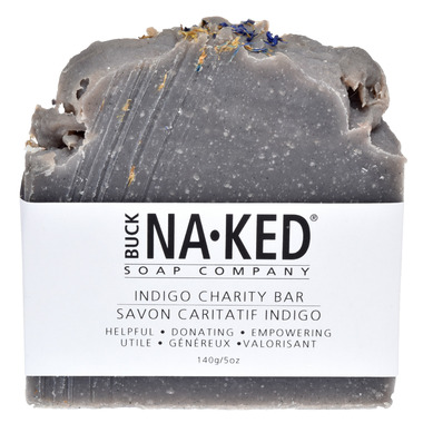 Buck Naked Soap Company Indigo Charity Bar