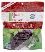 Made In Nature Organic California Seedless Sun-Dried Raisins