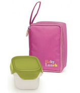IRIS Barcelona Insulated Lunch Baby Kit in Pink
