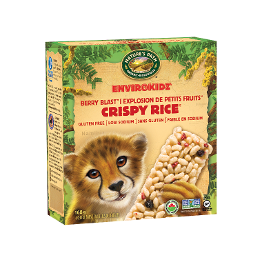 Nature\'s Path EnviroKidz Crispy Rice Berry Blast Bars