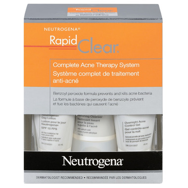 Neutrogena Rapid Clean Complete Acne Therapy System