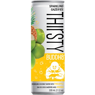 Thirsty Buddha Sparkling Coconut Water with Pineapple