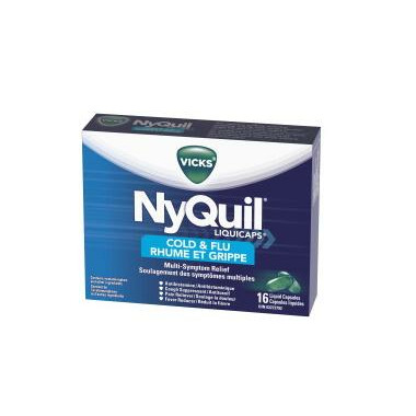 Vicks Nyquil Cold & Flu Liquicaps