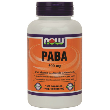 NOW Foods Paba with Vitamin C