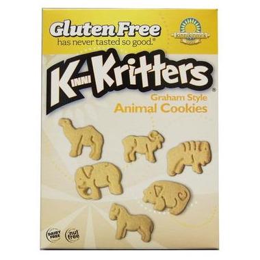 Kinnikinnick KinniKritters Graham Style Animal Cookies