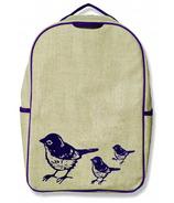 SoYoung Grade School Backpack Purple Birds