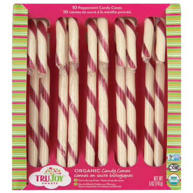 TruJoy Organic Candy Canes
