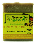 Enfleurage Organics Bar Soap Honey N' Pumpkin