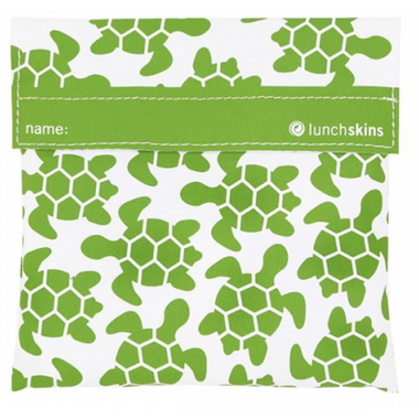 Lunchskins Green Turtle Sandwich Bag