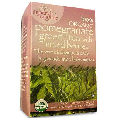 Uncle Lee\'s Imperial Organic Pomegranate Green Tea