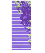 Gaiam Kids Printed Yoga Mat Purple Flowers