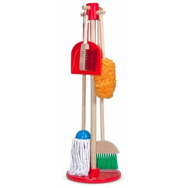 Melissa & Doug Let\'s Play House! Dust, Sweep & Mop