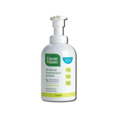 Cleanwell All-Natural Foaming Hand Sanitizer