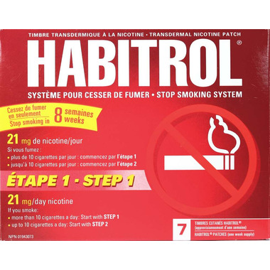 Habitrol Stop Smoking System Step 1