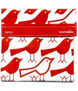 Lunchskins Red Bird Sandwich Bag