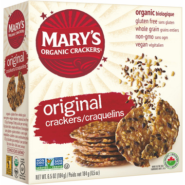 Mary\'s Organic Crackers Original Seed Crackers