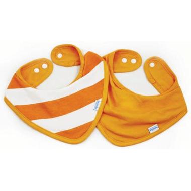 Bumkins Waterproof Bandana Orange Stripe