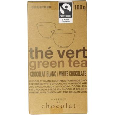 Galerie au Chocolat Green Tea White Chocolate Bar