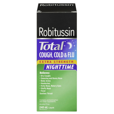 Buy Robitussin Total Cough Cold Amp Flu Extra Strength