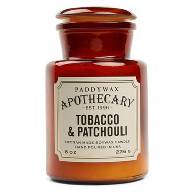 Paddywax Apothecary Candle Tobacco & Patchouli