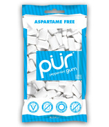PUR Sugar-Free Peppermint Gum Bag