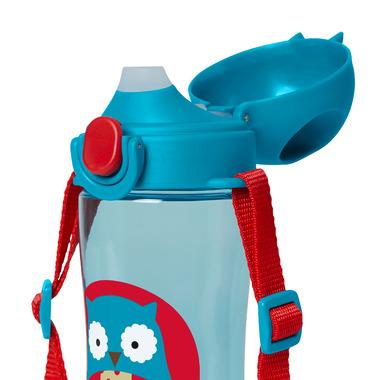 Skip Hop Zoo Lock-Top Sports Bottle Owl