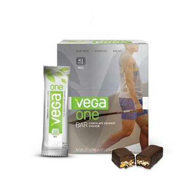 Vega One All-In-One Chocolate Coconut Cashew Meal Bars
