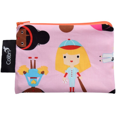 Colibri Reusable Snack Bag Small Sports Girl