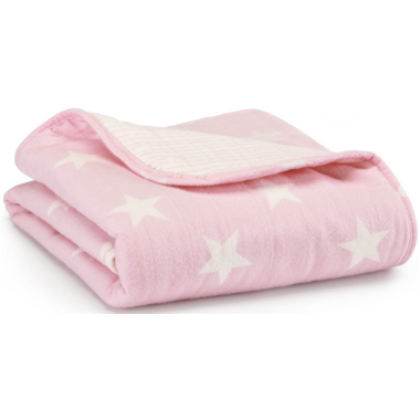 aden + anais Cozy Flannel Muslin Stroller Blanket