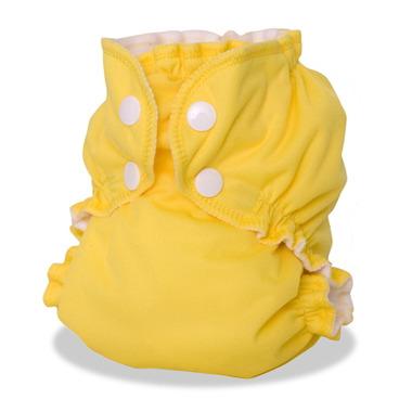 AppleCheeks Diaper Cover Lemon Zest