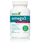 Genuine Health Omega3+ Triple Strength with D3