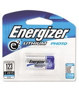Energizer E2 Lithium Photo Battery 123
