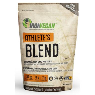 IronVegan Athlete\'s Blend Protein Chocolate