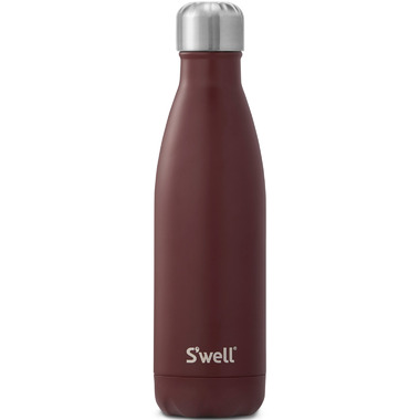 S\'well Bordeaux Stainless Steel Water Bottle Satin Collection