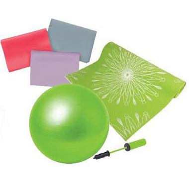 Everlast Green Yoga Kit
