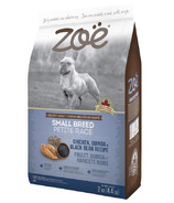 Zoe Small Breed Dog Food Chicken, Quinoa, Black Bean
